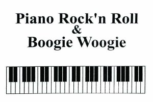 Piano Rock'n Roll and Boogie Woogie sheet music