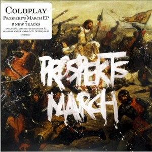 Download cold play prosekts march rock sheet music pdf