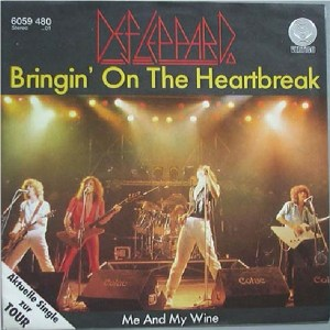 Download def leppard bringin on the heartbreak rock sheet music pdf