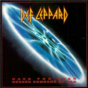 Download def leppard have you ever needed someone so bad rock sheet music pdf