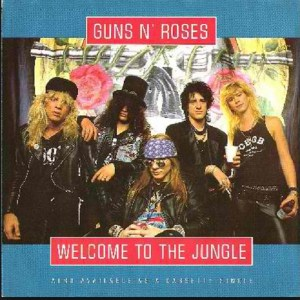Download guns n roses welcome to  the jungle rock sheet music pdf