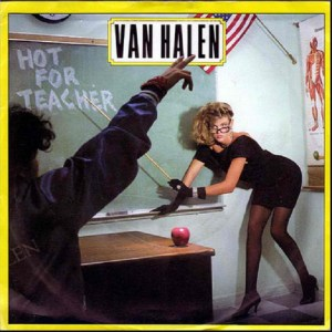 Download van halen hot for teacher rock sheet music pdf