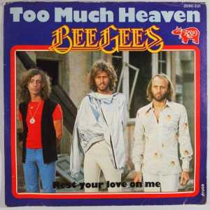 Download bee gees too much heaven rock sheet music pdf