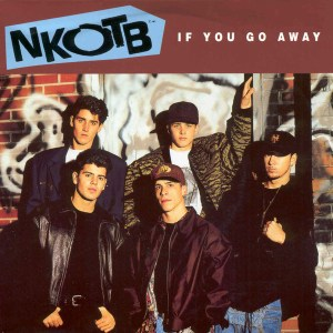 Download new kids on the block if you go away rock sheet music pdf