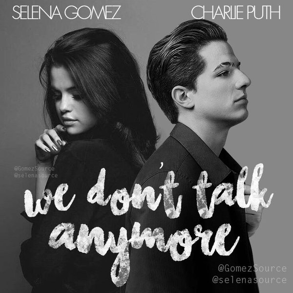 Download Selena Gomez Charlie Puth We Dont Talk Anymore sheet music free