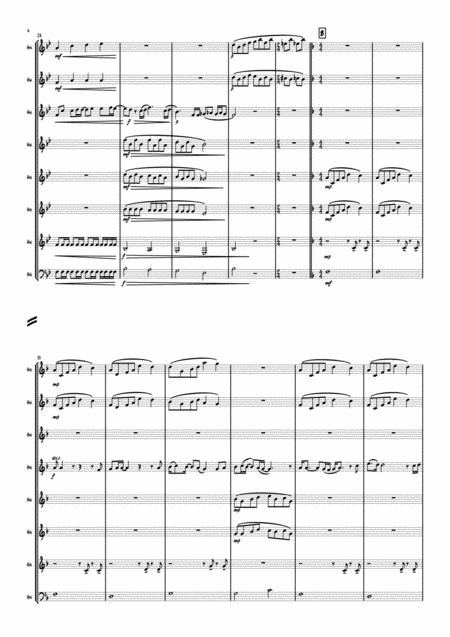 Bohemian Rhapsody Horn Octet Sheet Music PDF Download