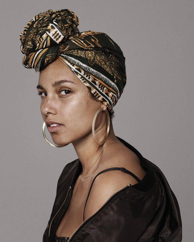 Loving the Skin I'm In: Alicia Keys