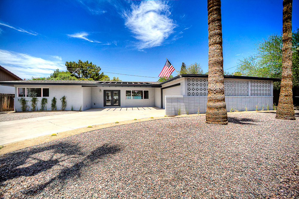 Phoenix Real Estate Photography  Arcadia Remodeled Homes