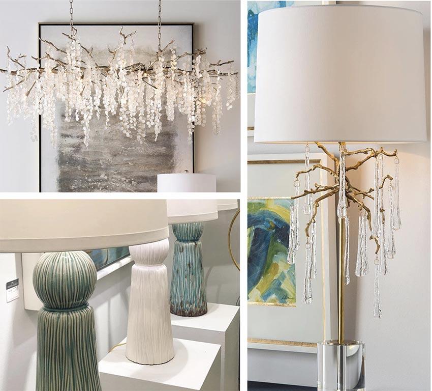 Design Trends Spring 2019 - Unique Lighting Dazzled