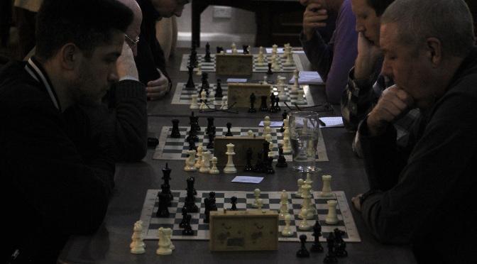 Henry wins the Ecclesall Chess Club 2016 Championship