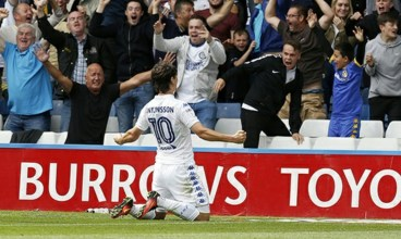 Antonsson scored Leeds' first in their victory at Hillsborough in August.