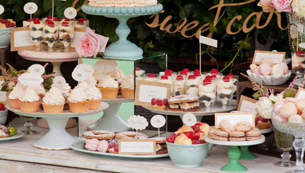 Creative Wedding Food Stations