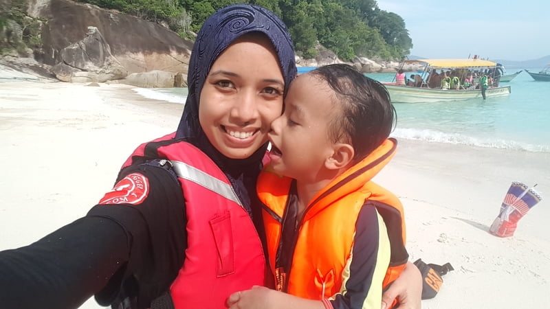 TRIP PERHENTIAN part 2 : SNORKELLING & WINDMILL