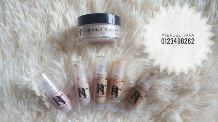 rose tyara glow foundation 1