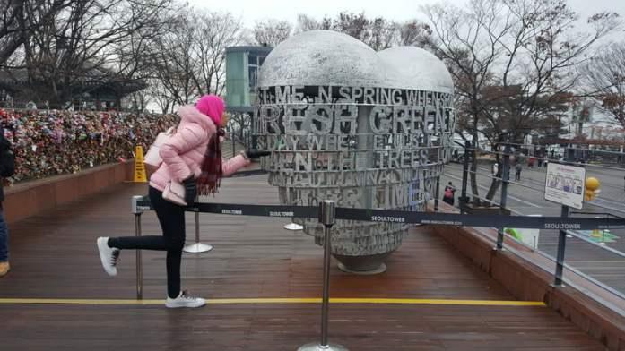 KOREA TRIP GYEONGBOKGUNG PALACE, LOVE LOCKS N SEOUL TOWER, NAMDAEMUN MARKET, MYEONG-DONG (402)