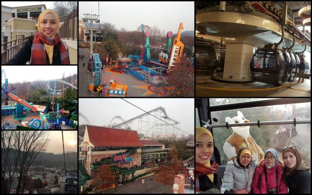 korea trip_day 3_strawberry farm_diy kimchi_hanbok_everland theme park