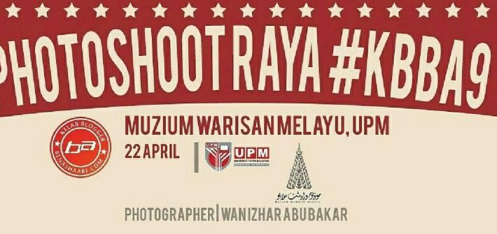 PHOTOSHOOT RAYA KBBA9 2017 - 2