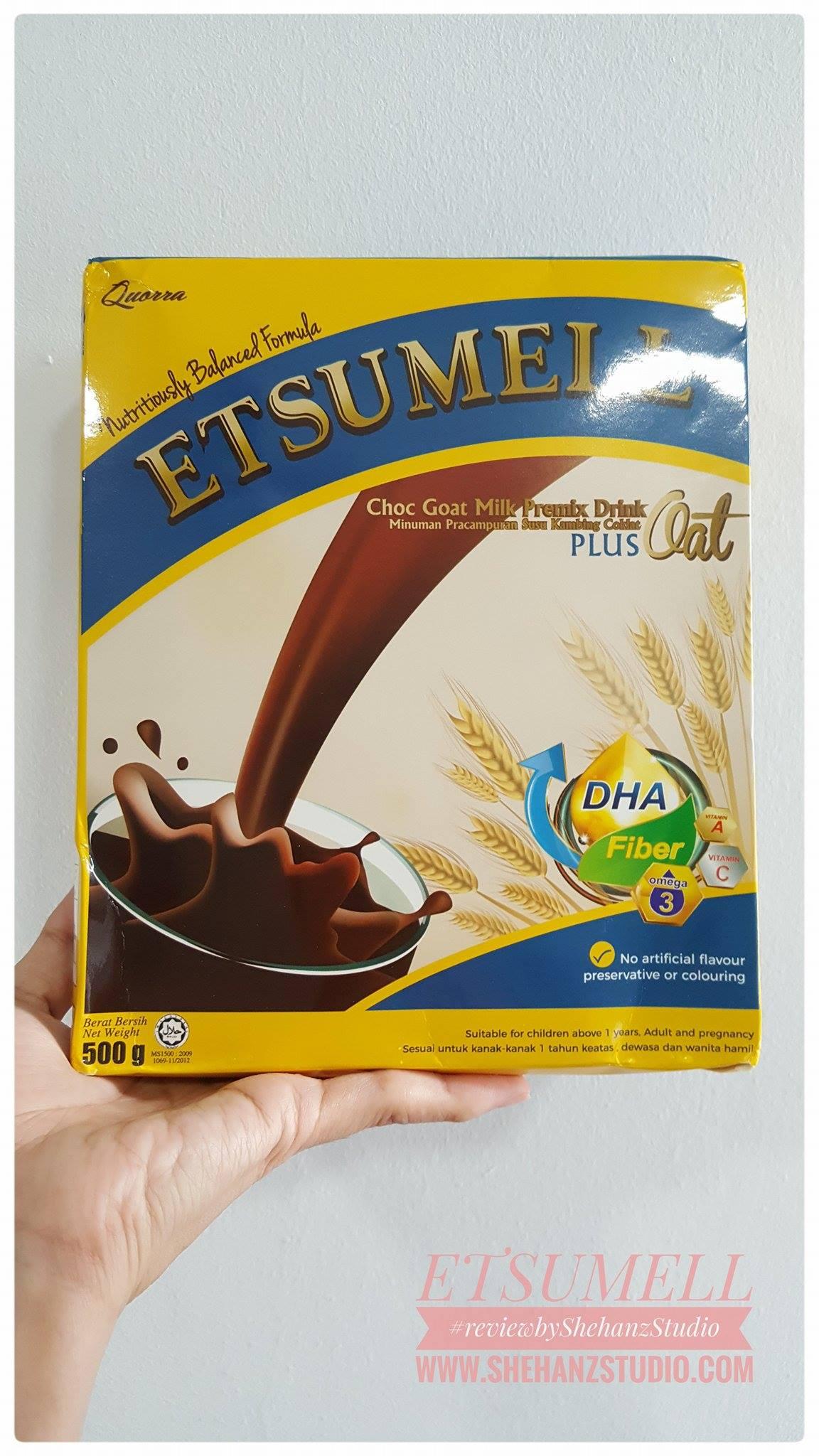 SUSU KAMBING ETSUMELL CHOCO OAT