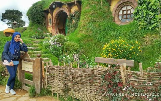 KEMBARA #KBBA9 COSMODERM – IKHLAS TOURS KE NEW ZEALAND | HOBBITON MOVIE SET, MATAMATA.. HERE WE COME (PART 2)