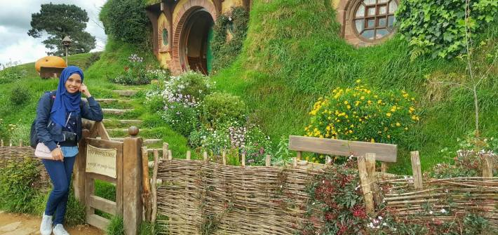 KEMBARA KBBA9 COSMODERM - IKHLAS TOURS KE NEW ZEALAND HOBBITON MOVIE SET, MATAMATA (16)