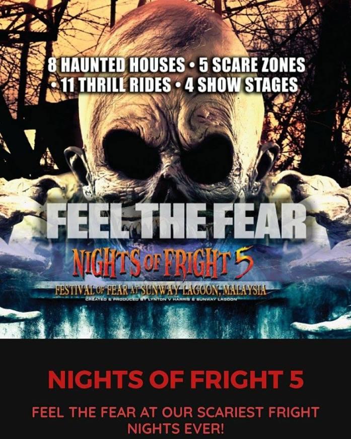 NIGHTS OF FRIGHT 5 SUNWAY LAGOON