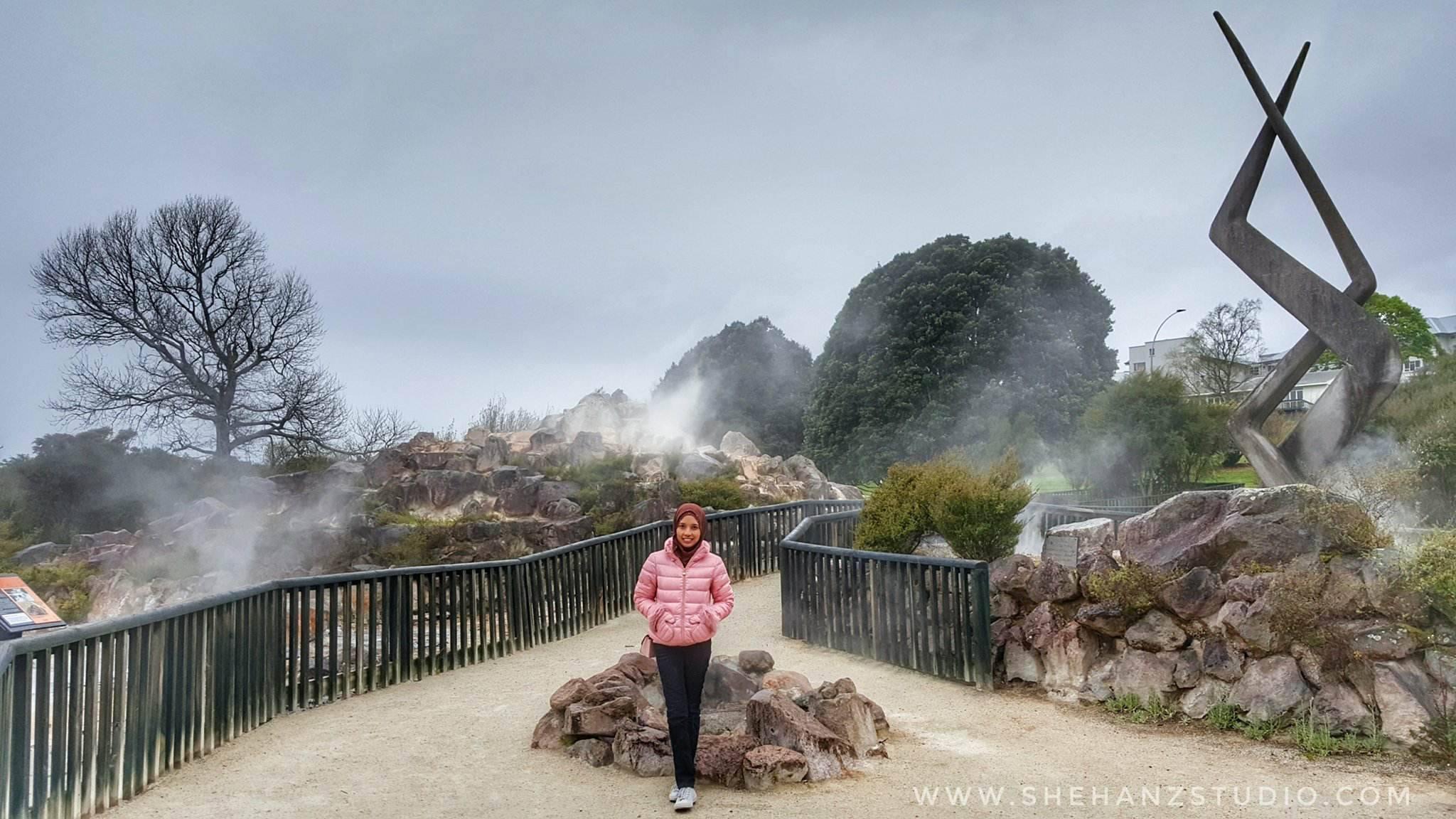 KEMBARA #KBBA9 COSMODERM - IKHLAS TOURS KE NEW ZEALAND BLUE LAKE, TARAWERA, AGRODOME AT ROTORUA (SPRING TIME) (PART 5) (10)