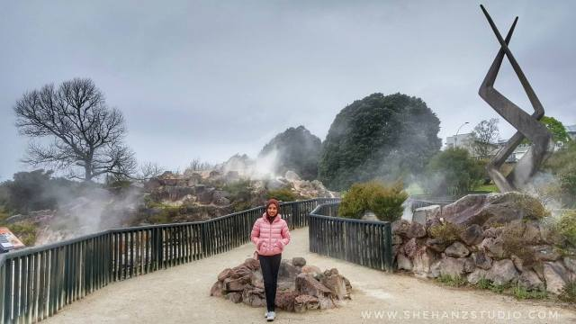 KEMBARA #KBBA9 COSMODERM - IKHLAS TOURS KE NEW ZEALAND BLUE LAKE, TARAWERA, AGRODOME AT ROTORUA (SPRING TIME) (PART 5) (10)