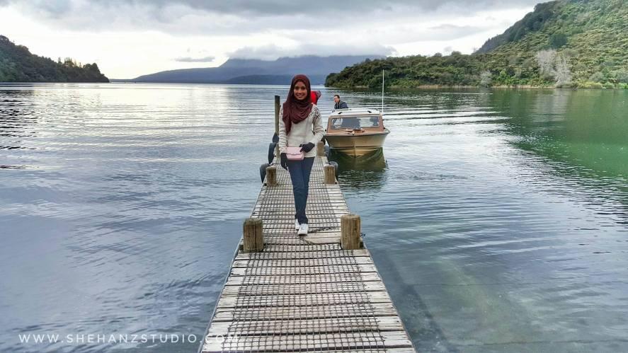 KEMBARA #KBBA9 COSMODERM - IKHLAS TOURS KE NEW ZEALAND BLUE LAKE, TARAWERA, AGRODOME AT ROTORUA (SPRING TIME) (PART 5) (3)