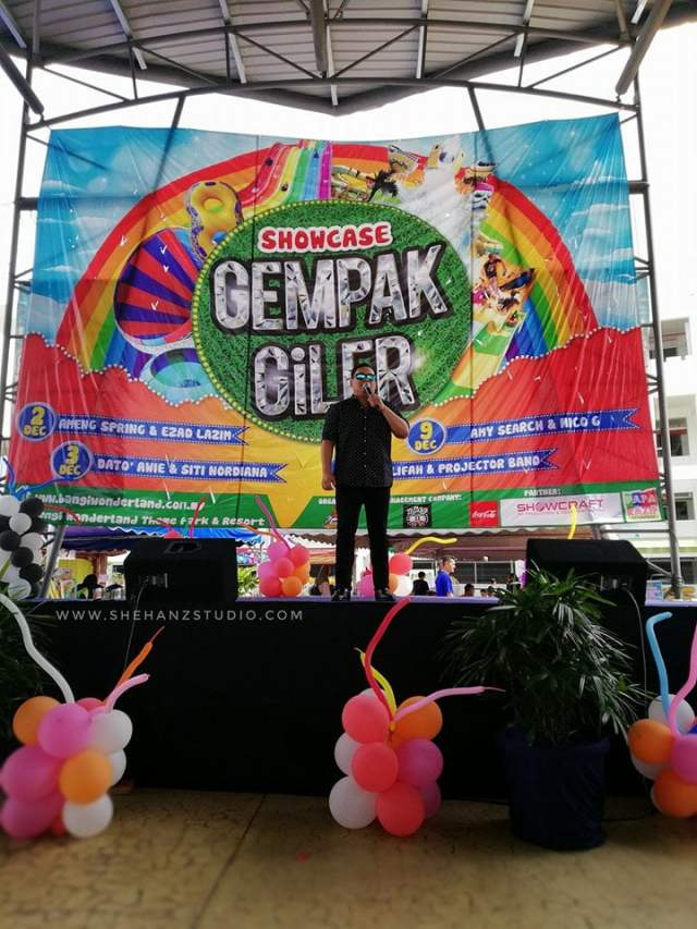 GEMPAK GILER BANGI WONDERLAND KEMBARA KBBA9 - SAMBIL MANDI, SAMBIL BERHIBUR DENGAN ARTIS! (14)