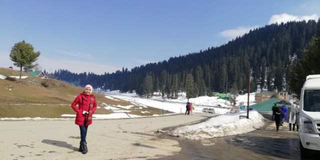 KASHMIR TRIP - TEAM KEMBARAQASEHZYPHYTO TRIP KE GULMARG (527)