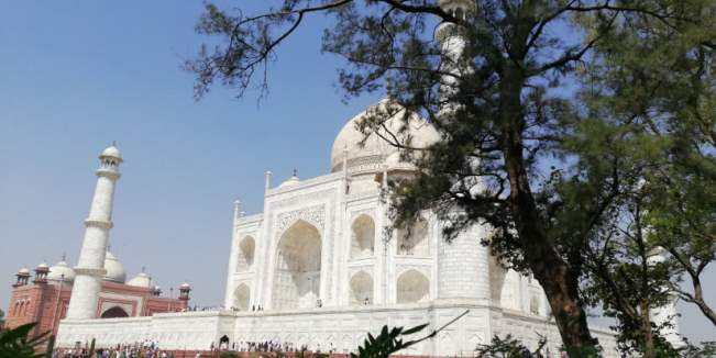TRIP INDIA CANTIKNYA TAJ MAHAL (299)