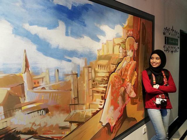 HANNAHDAMIA BIRTHDAY TRIP BILIK TEMA HELLO KITTY DI HOTEL DE ART i-CITY SHAH ALAM (20)