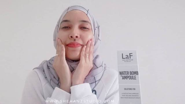 LaF LOST AND FOUND WATER-BOMB AMPOULE - MY FIRST IMPRESSION! (20)