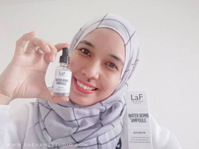 LaF LOST AND FOUND WATER-BOMB AMPOULE - MY FIRST IMPRESSION! (17)