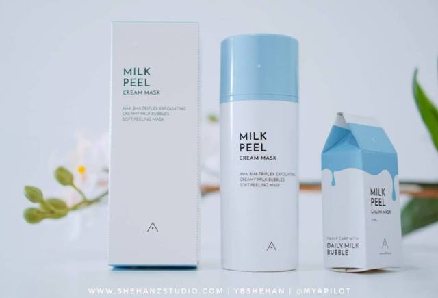 ALTHEA MILK PEEL CREAM MASK REVIEW (6)