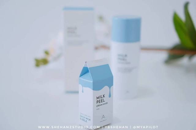 ALTHEA MILK PEEL CREAM MASK REVIEW (7)