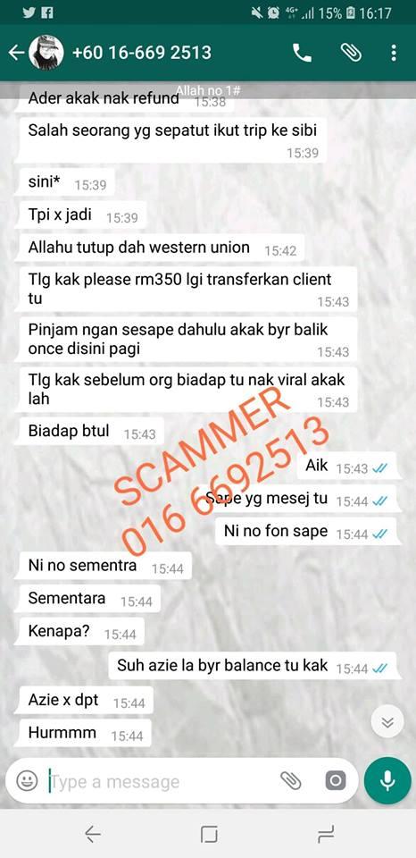 scammer 0166692513