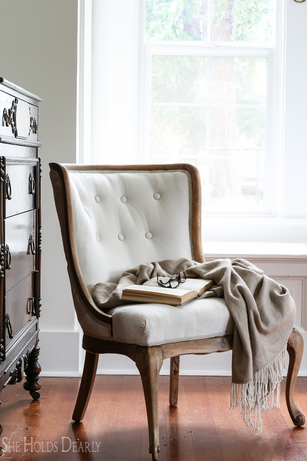 where to get chairs reupholstered swing chair indoor reupholstering an antique she holds dearly how reupholster start finish including tufting