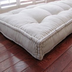 Diy Chair Cushion No Sew Adirondack Style Garden Chairs French Mattress Tutorial - She Holds Dearly