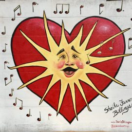 Punto Urban Art Museum 2017, Singing Sun Mural, Peabody St., Salem, MA
