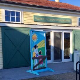Beekeeper Photo-Op Mural, Curious City Pop-Up Children's Museum, Peabody, MA
