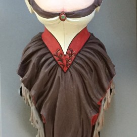 Painted Jenny Lind figurehead for the Lady of Salem Project, Salem, MA. Sponsored by The Village Restaurant.
