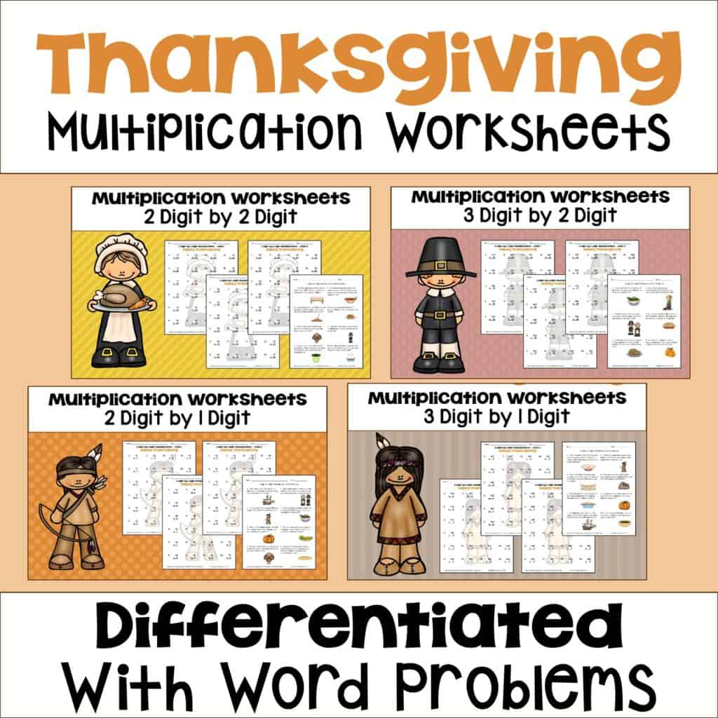 hight resolution of Thanksgiving Activities for Upper Elementary Math - Sheila Cantonwine
