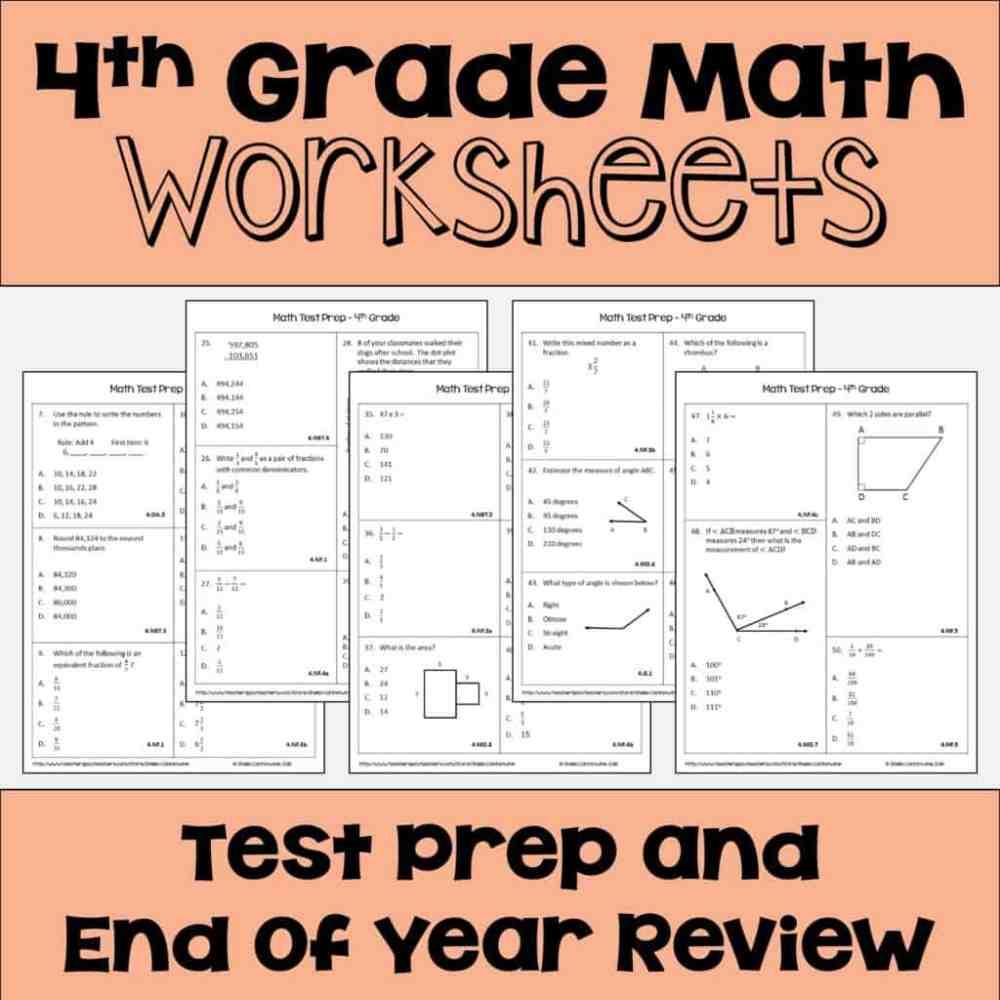 medium resolution of 4th grade math Archives - Sheila Cantonwine