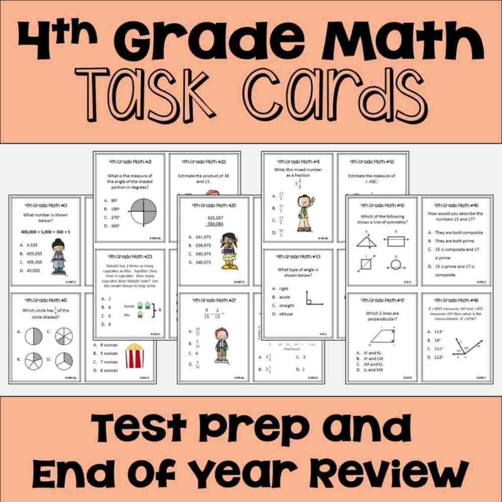 medium resolution of 4 Fun Ways to Test Prep for 4th Grade Math - Sheila Cantonwine