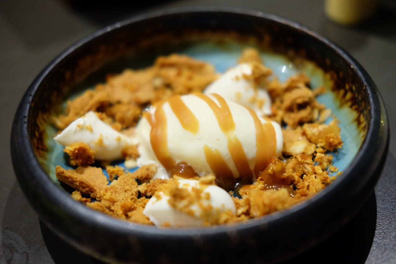 Milk & Honey, goat's cheese ice-cream