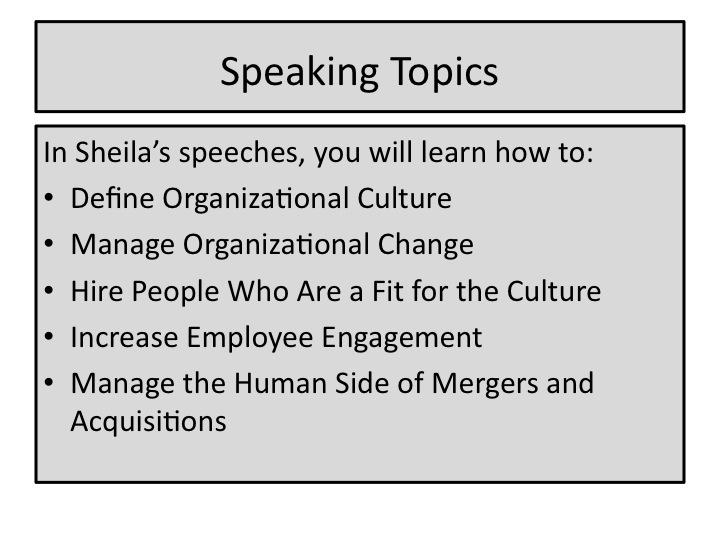list of culture topics