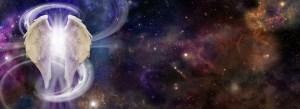 Angel Spirit in Deep Space