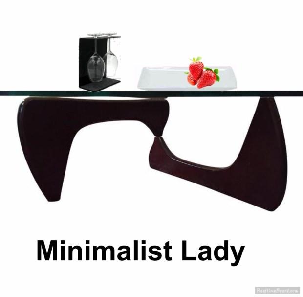 Minimalist Lady