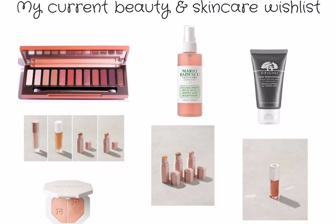 My current beauty & skincare wishlist.